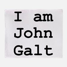 I am John Galt 01.png Throw Blanket