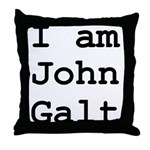 I am John Galt 01.png Throw Pillow