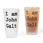 I am John Galt 01.png Drinking Glass