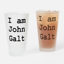I am John Galt 01.png Drinking Glass