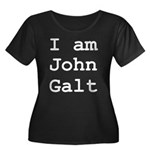 I am John Galt 01.png Plus Size T-Shirt