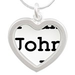 I am John Galt 01.png Silver Heart Necklace