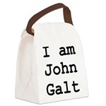 I am John Galt 01.png Canvas Lunch Bag