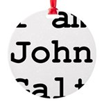 I am John Galt 01.png Ornament