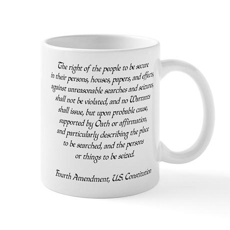 4th Amendment 01.png Mug