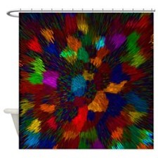 Firey Blast Shower Curtain