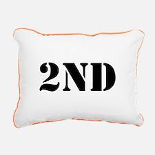 """""""2nd Amendment"""" Rectangular Canvas Pillow"""
