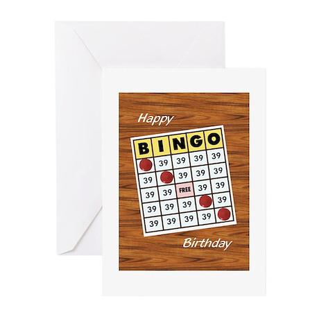 bingo_F Greeting Cards