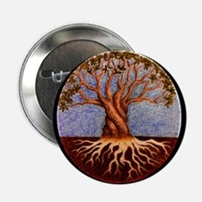 "Tree of Life 2.25"" Button"