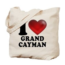 I Heart Grand Cayman Tote Bag