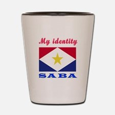 My Identity Saba Shot Glass