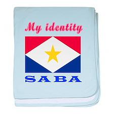 My Identity Saba baby blanket