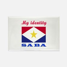 My Identity Saba Rectangle Magnet