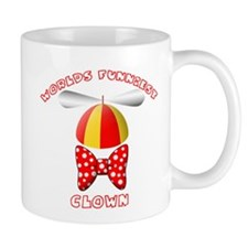 Worlds Funniest Clown Mug