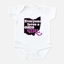 Ohio Girl Infant Bodysuit