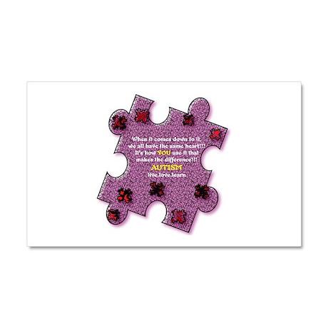 Autism Have A Heart Car Magnet 20 x 12