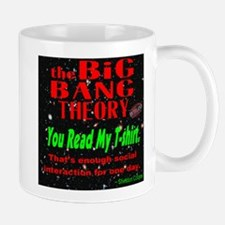 You Read My T-shirt Mug