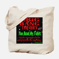 You Read My T-shirt Tote Bag