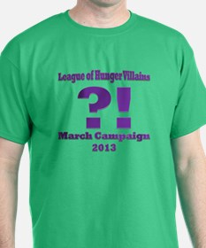 League of Hunger Villains Punctuation T-Shirt
