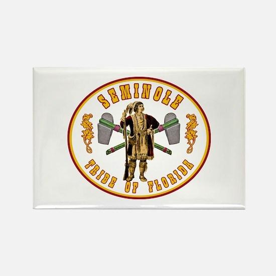 Vintage Seminole Tribe of Florida. Rectangle Magne