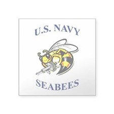 us navy seabees Sticker