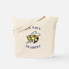 us navy seabees Tote Bag