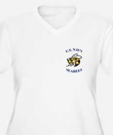 us navy seabees Plus Size T-Shirt