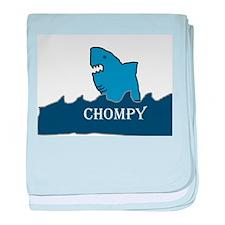 Shark: Chompy baby blanket