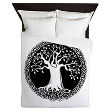 Celtic Tree Queen Duvet