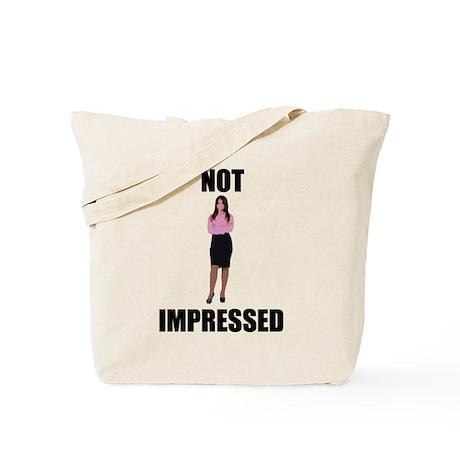 Not Impressed Tote Bag