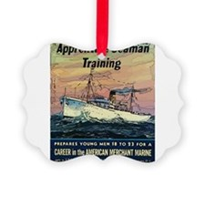 Apprentice Seaman Training Ornament