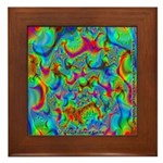 Fractal C~03 Framed Tile