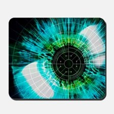 Mousepad - Biometric eye scan