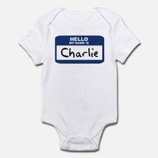 Hello: Charlie Infant Bodysuit
