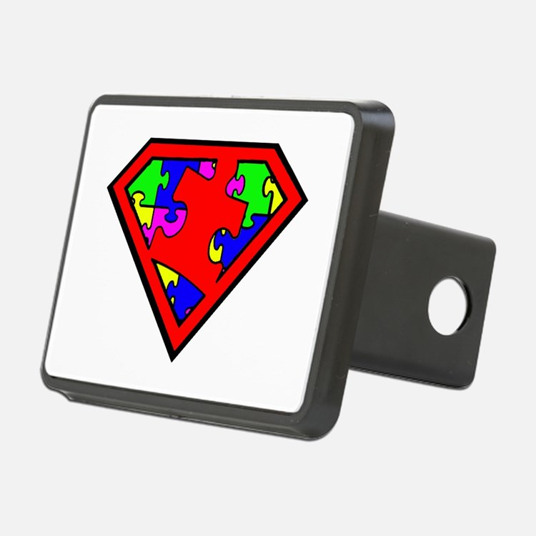 Autism is a Super Power Hitch Cover
