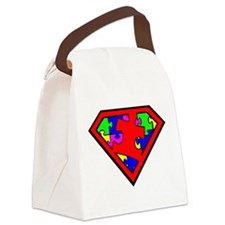 Autism is a Super Power Canvas Lunch Bag