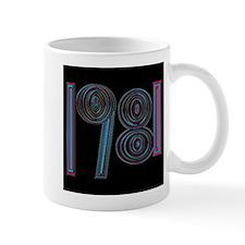 1981 cool year logo Mug