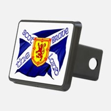 Scotland the brave flag Hitch Cover