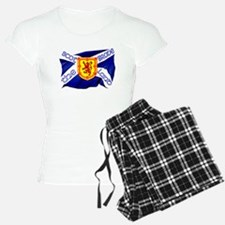 Scotland the brave flag pajamas