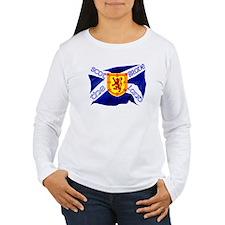 Scotland the brave flag Long Sleeve T-Shirt