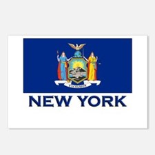 New York Flag Merchandise Postcards (Package of 8)