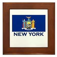 New York Flag Merchandise Framed Tile