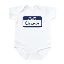 Hello: Eleanor Infant Bodysuit