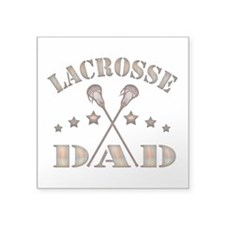 Lacrosse Dad, Steampunk Style Sticker