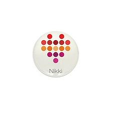 I Heart Nikki Mini Button (100 pack)