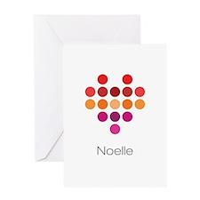 I Heart Noelle Greeting Card