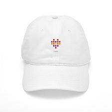 I Heart Nola Baseball Hat