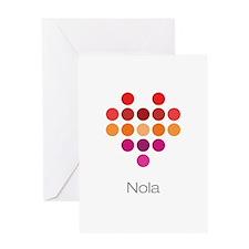 I Heart Nola Greeting Card