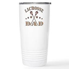 Lacrosse Dad, Steampunk Style Travel Mug