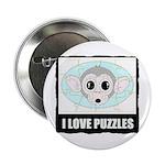 I LOVE PUZZLES Button